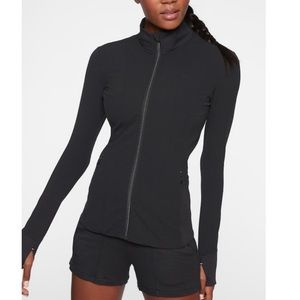 Athlete Shanti Jacket in Black Sz S